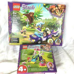Lego Friends Lot 2 Sets Baby Elephant Jungle